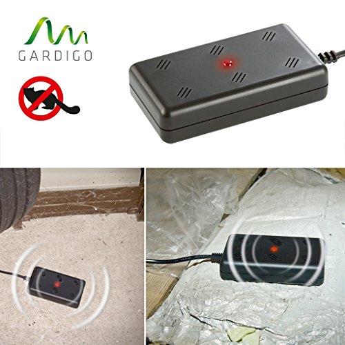Gardigo Marder-Frei Indoor, Marderschreck, Marderschutz, Marderabwehr 230 V mit Netzstecker für Garage, Stall, Dachboden etc.