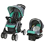 Graco Children 7BG03BRA3CA Comfy Cruiser Click Connect Travel System with SnugRide Click 30 Infant Car Seat