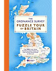 The Ordnance Survey Puzzle Tour of Britain: A Journey Around Britain in Puzzles (Puzzle Books)