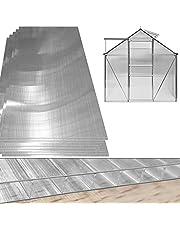 Deuba Plaque de polycarbonate creux 10,25 m² (soit 14 unités)   Plaques à double paroi, 4mm d'épaisseur