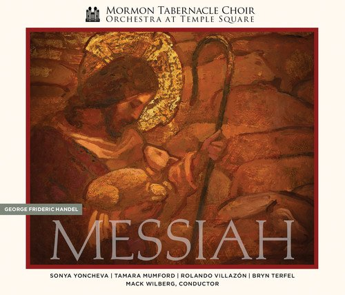 Handel's Messiah (Deluxe Edition) (2CD + DVD) by Mormon Tabernacle