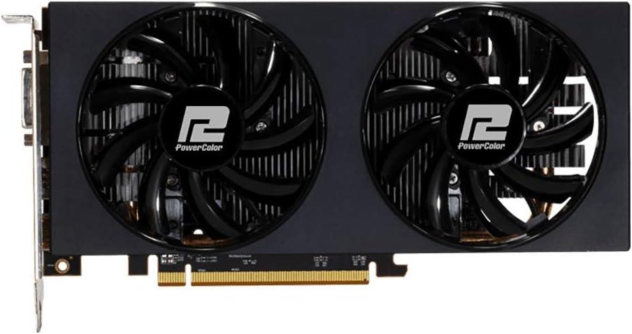 PowerColor AMD Radeon RX 5500 XT 4GB AXRX 5500XT 4GBD6-DH//OC