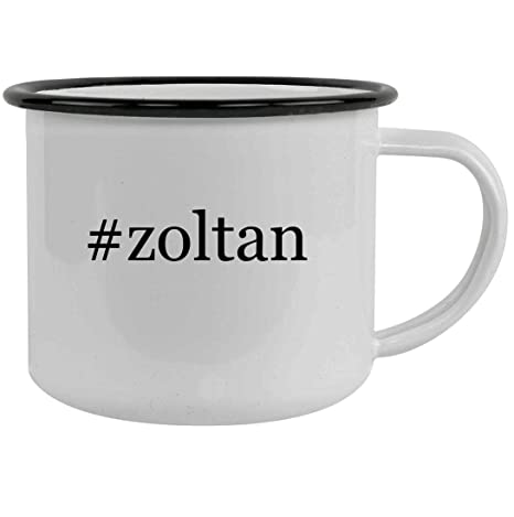 Amazon.com: #zoltan Hashtag - Taza de camping (acero ...