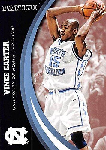 Carter Basketball Vince (Vince Carter basketball card (North Carolina Tar Heels) 2016 Panini Team Collection #18)