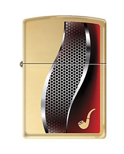 (Zippo Gold High Polish Brass Pipe Lighter)