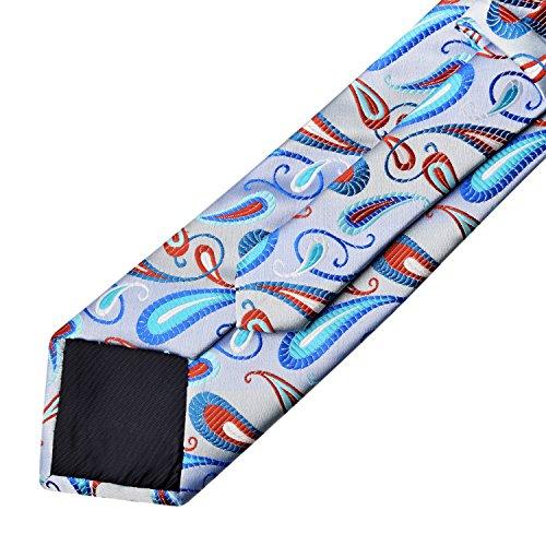 De Alizeal Clair Poche Mouchoir Avec Cravate Bleu Fond PxnaqwEpnB