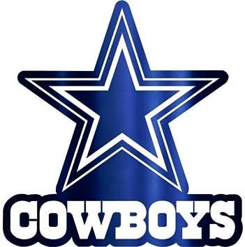 Dallas Cowboys Logo NFL Sport Car Bumper Sticker Decal ...
