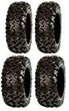Full set of Sedona Rip Saw 26x9-12 and 26x11-12 ATV Tires (4)