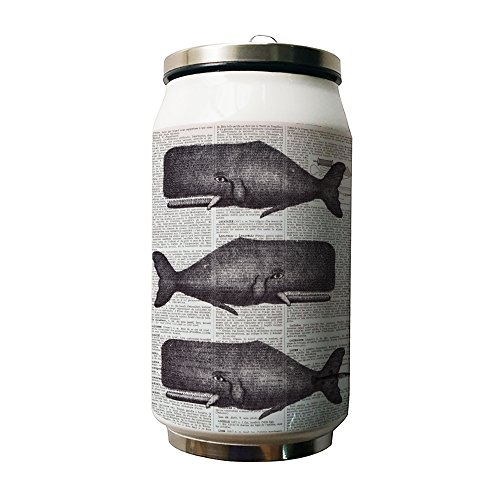 Kdnsgfds Vintage Whales Double Vacuum Insulated Stainless Steel Coke Cans Water Bottle 500Ml   Personalized Gift For Birthday Christmas And New Year