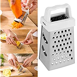 Gillberry Kitchen Utensils Multi-Function Three-Dimensional Stainless Steel Mini Four-Side