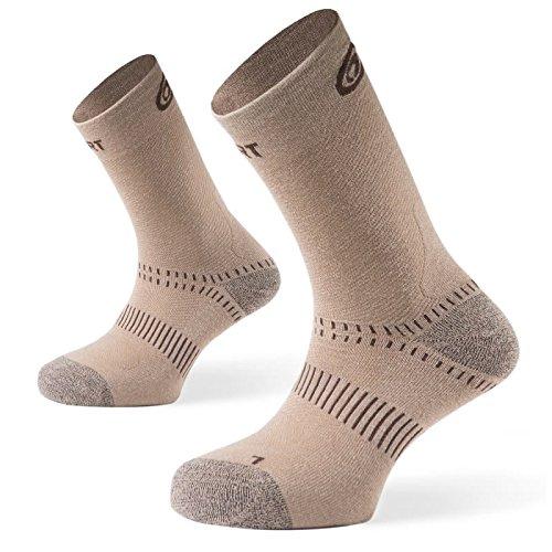 BV Sport Beige Double TDE Socks Hiking Socks 7MYgd