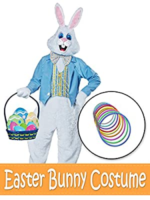 Easter Bunny With Blue Jacket Costume Kit