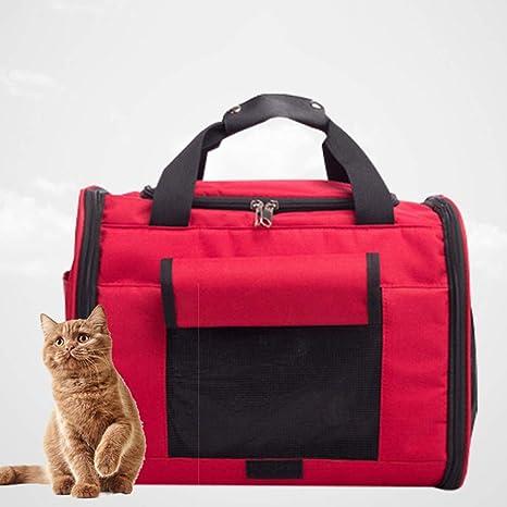 HLYMNB Portadores de Mascotas Que transportan Gatos pequeños Bolso ...