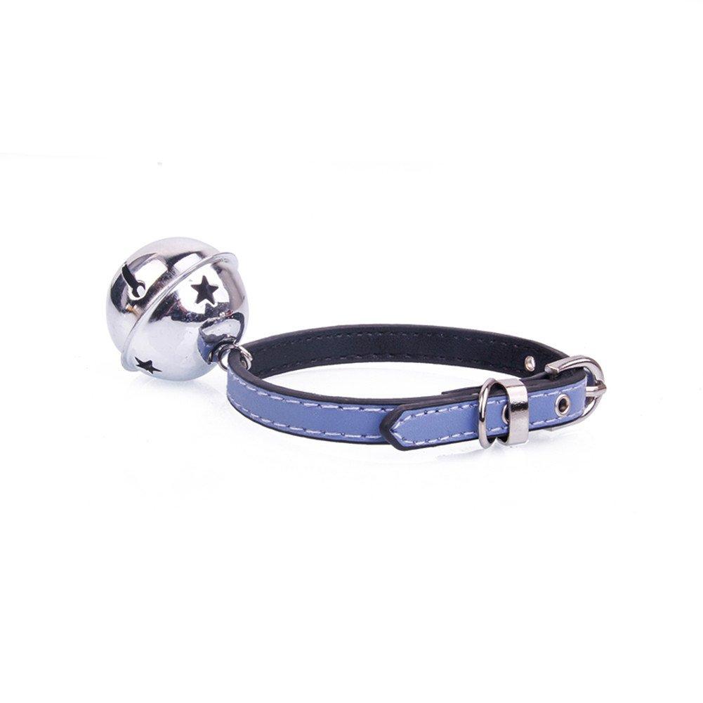 fuentes del animal dom/éstico. peluche Las campanas lindas estupendas ajustables collar -Morbuy del animal dom/éstico conveniente para los gatos y los perros peque/ños perrito M, negro