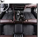 Auto mall Custom Fit Heavy Duty Full Set Floor Mats Carpet for Mitsubishi Pajero V93 2009-2017(Black)