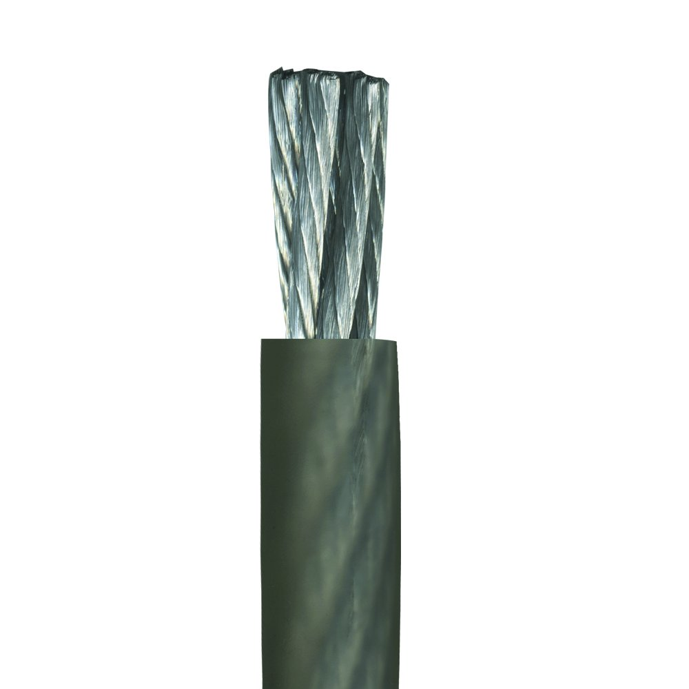 Gray Stinger SHW10G 50-Feet of 1//0 Gauge Matte Gray Hyper-Flex Power//Ground Cable