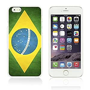 Flag Pattern Hard Back Case Cover For Apple Iphone 5C Smartphone Brazil