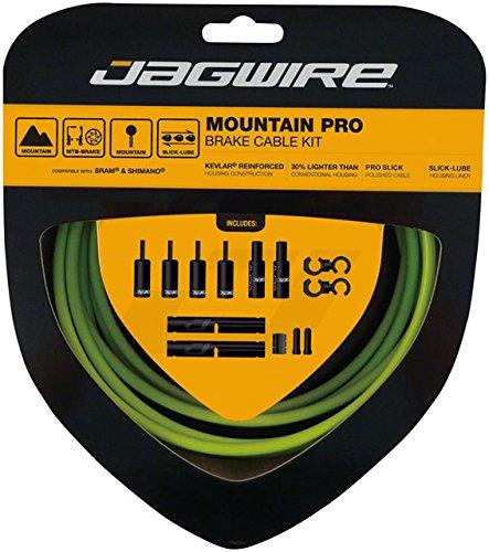 Jagwire Pro Brake Cable Kit Mountain SRAM/Shimano, Organic Green by Jagwire