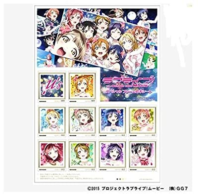 Love Live! Comiket 88 LovelivK3106e ?'s The School Idol Movie sheet Comiket Limited bag