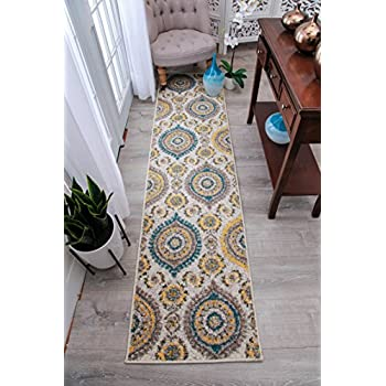 Amazon Com New Runners Rugs 8 Feet Long Modern Foyer Rugs Indoor