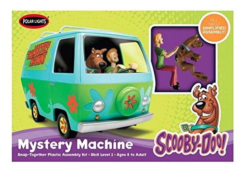 Snap Lights Polar (Polar Lights SNAP Scooby-Doo Mystery Machine (New Tool))