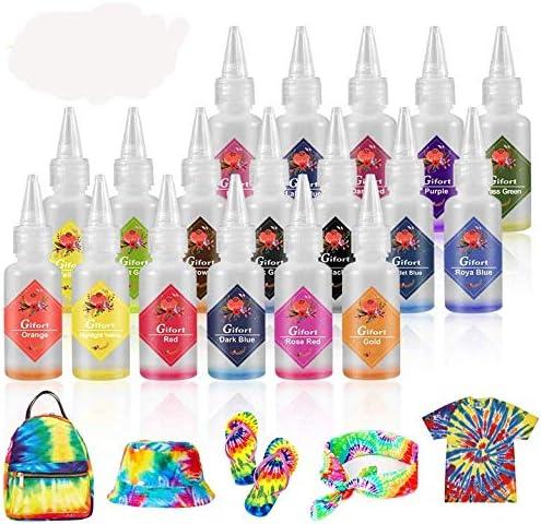 Juego de tinte para teñir, 18 colores, pinturas textiles de ...
