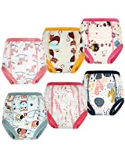 Training Pants Customized Toddler Training Underwear for Baby Girl and Boy 6 Layers 2T-5T