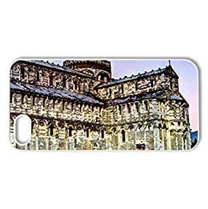magnificent cathedral and tower of pisa hdr - Case Cover for iPhone 5 and 5S (Religious Series, Watercolor style, White)