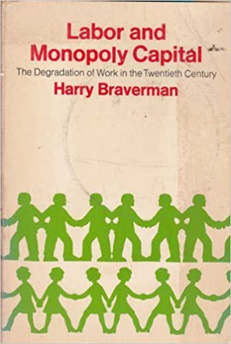 Labor and Monopoly Capital: The Degradation of Work in the Twentieth Century: Amazon.es: Braverman, Harry: Libros en idiomas extranjeros