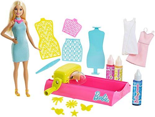 Magic Barbie (Barbie Crayola Color Magic Station Doll & Playset, Blonde)