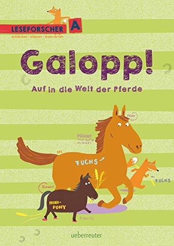 Galopp! Auf in die Welt der Pferde: Leseforscher ABC