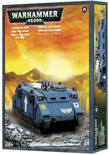 Warhammer 40,000 Mark IIc Rhino M31/99 12 01/017 Space Marine Transport  Model Kit