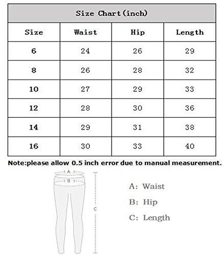 Boy's Ripped Skinny Jeans Destroyed Stretch Slim Distressed Pants Light Blue 8 by JeansNiu (Image #7)