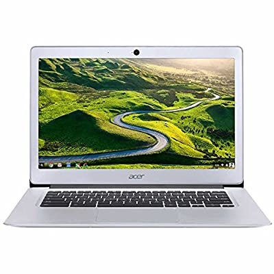 "2018 Acer 14"" Premium High Performance FHD IPS Student Chromebook-Intel Celeron Quad-Core N3160 Processor, 4GB RAM, 32GB SSD, HDMI, WiFi, Bluetooth Chrome OS-(Certified Refurbished)"