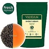 VAHDAM, Smoky Assam Souchong Black Tea (50 Cups) | Unique Smoky FLAVOURY Assam Tea | Rich & MALTY Black Tea Loose Leaf | Smoky & Delicious Black Tea Leaves | 3.53oz