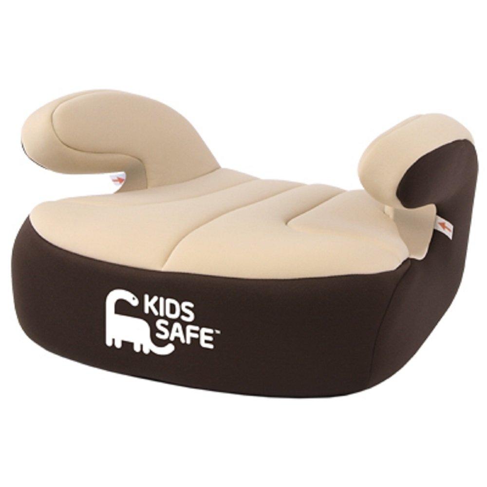 KS200BR - Rehausseur sège auto pour enfants Kids Safe, Groupe III, Brun durable modeling