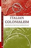 Italian Colonialism (Italian and Italian American Studies)