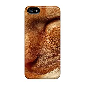 Sanp On Cases Covers Protector For Iphone 5/5s (red Tabby)