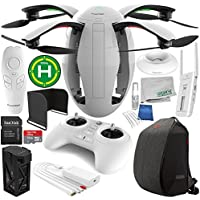 PowerVision PowerEgg Drone with 360 Panoramic 4K HD Camera and 3-axis Gimbal with Maestro + PowerVision Backpack Starters Accessory Bundle