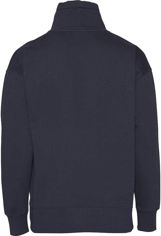 KnowledgeCotton Herren Sweat-Shirt Reine Bio-Baumwolle Total Eclipse