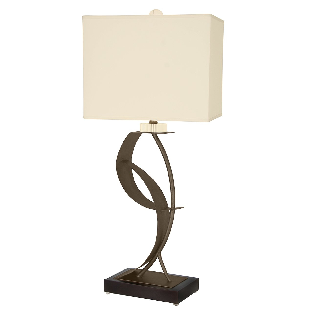 Van Teal Lady Eva Caramel Metal Table Lamp