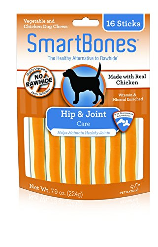 Smartbones Hip & Joint Care Sticks For Dogs, Rawhide-Free