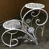 L;IAN Flower Pot Rack Iron Art European-Style Indoor Balcony Drop-Floor Flower Stand