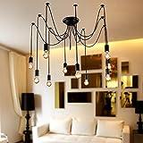 LightInTheBox Chandelier Vintage Design Bulbs Included Living 10 Lights Modern Home Ceiling Light Fixture Flush Mount Pendant Light Chandeliers Lighting