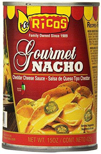 Ricos Gourmet Cheddar Nacho Cheese Sauce, 15 (Cheddar Nacho Cheese Sauce)