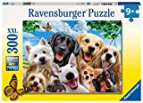 Ravensburger Delighted Dogs 300 Piece Jigsaw Puzzle for Kids – Every Piece is Unique, Pieces Fit Together Perfectly
