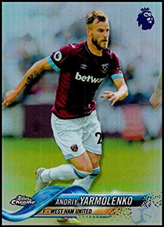 reputable site 7286f d808a Amazon.com: 2018-19 Topps Chrome Premier League Refractors ...