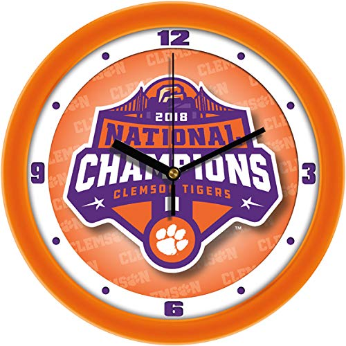 SunTime Clemson Tigers National Championship National Championship - Dimension Wall Clock ()