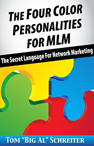 Amazoncom The Four Color Personalities For MLM The Secret