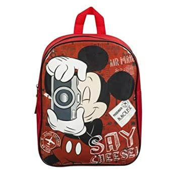 f8e71687d49 Sambro Mickey Mouse Junior Backpack  Amazon.co.uk  Toys   Games